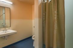 Typical patient toilet