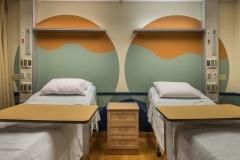 Semi-private Patient Room