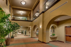 Two Story Lobby