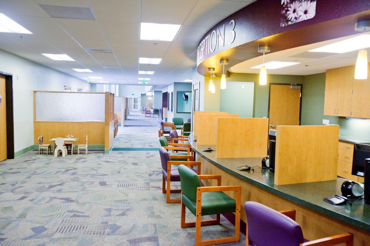 Vista community clinic women 39 s center expansion vista - San diego interior design center ...