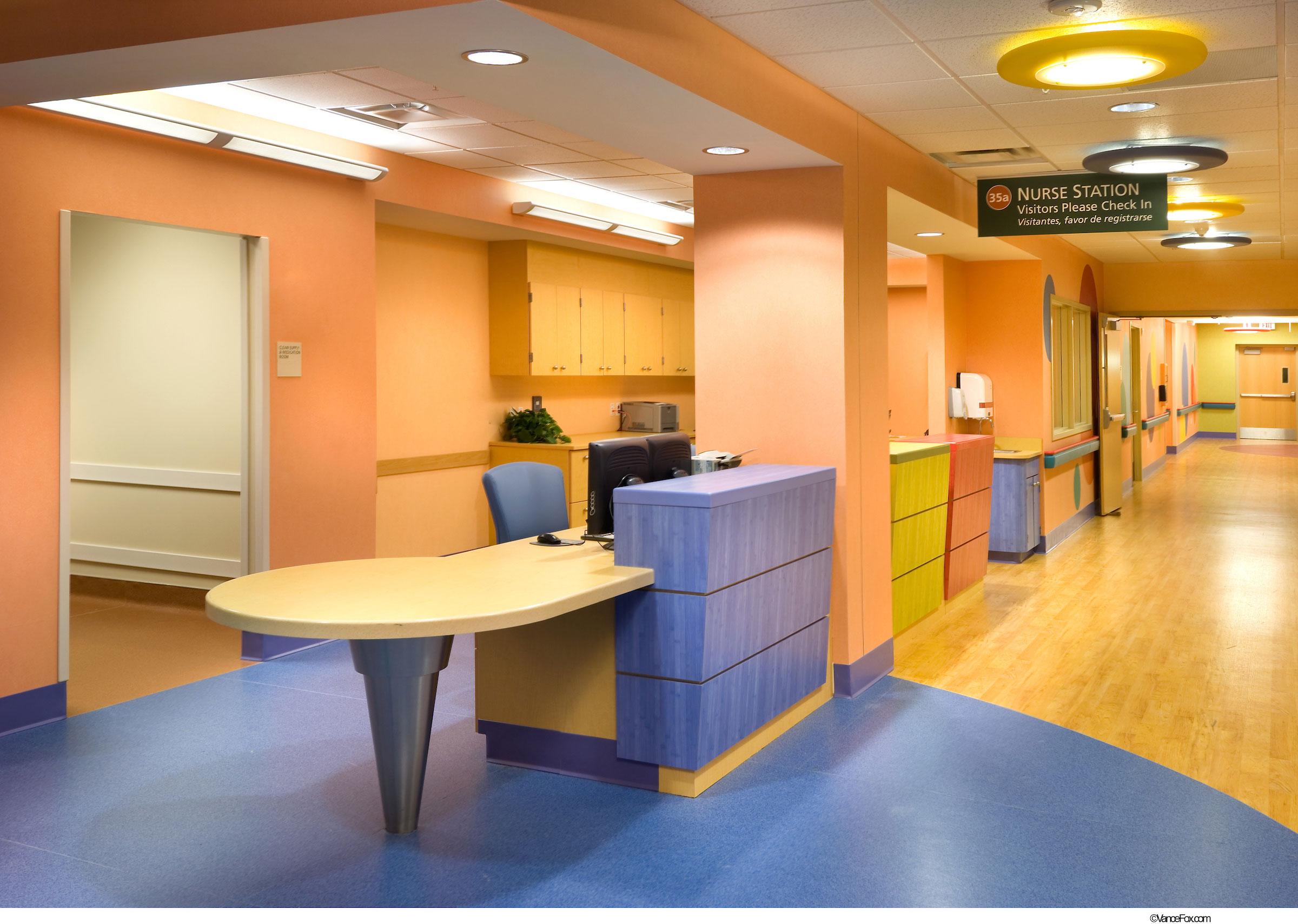 Pediatrics Nurse Station