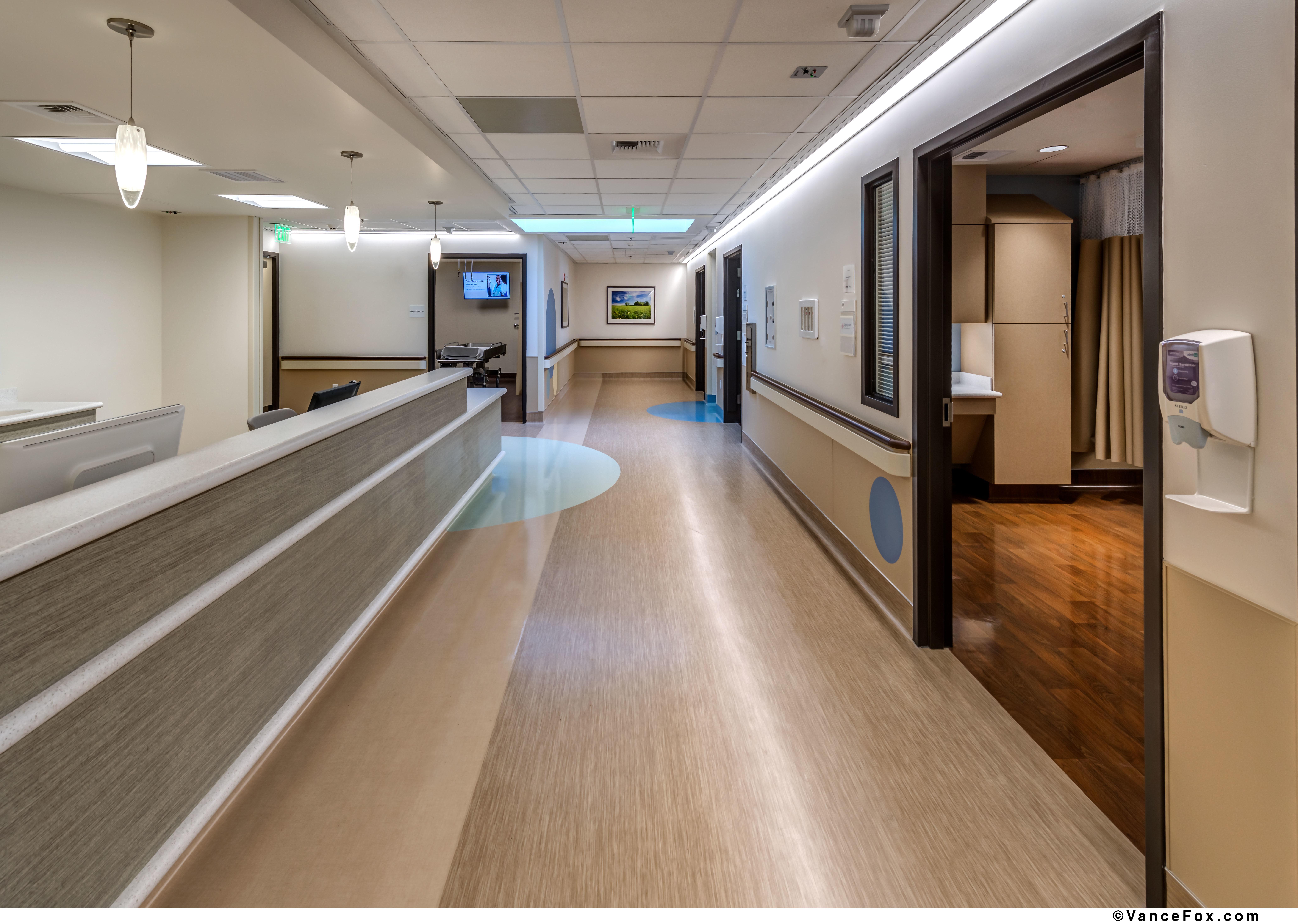Corridor & Nurse Station