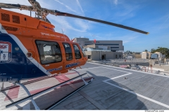 Helicopter Pad for Quick Access