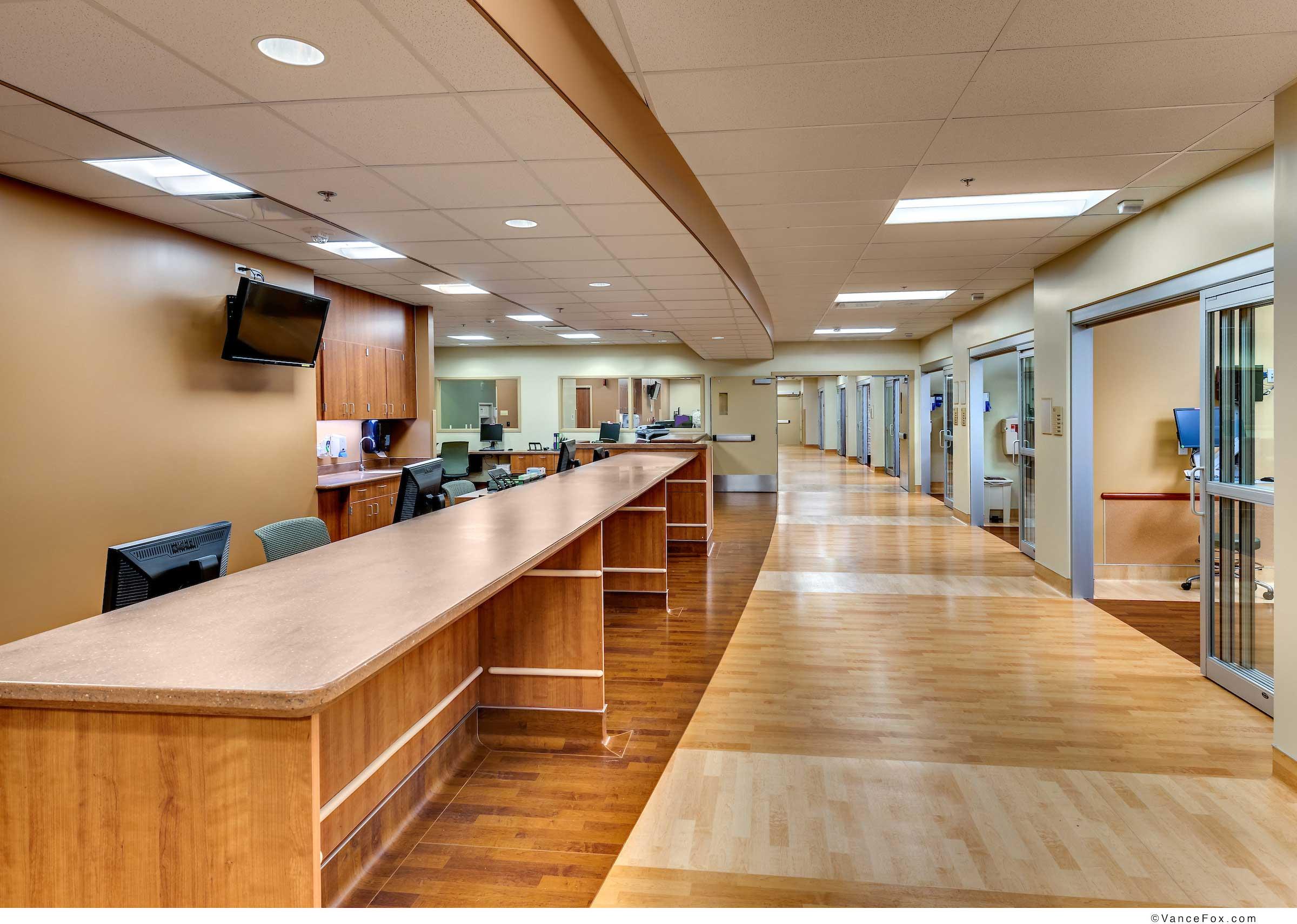 ICU CCU Nurse Station