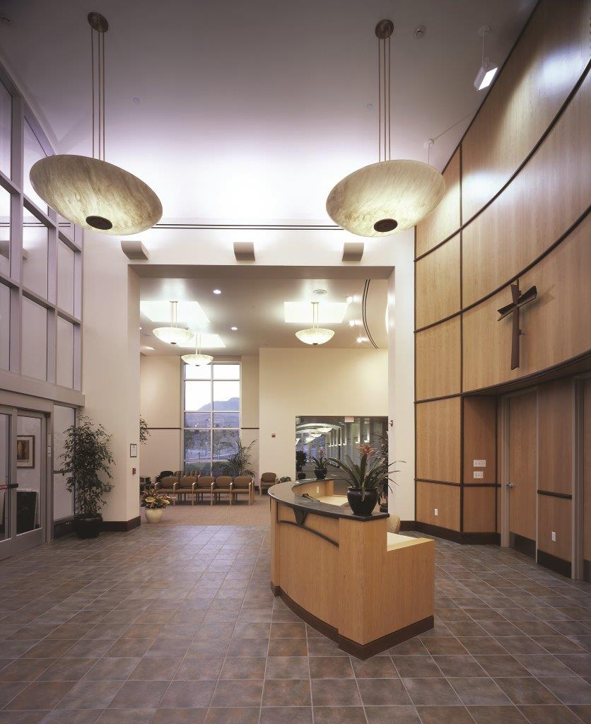 Main Lobby West View