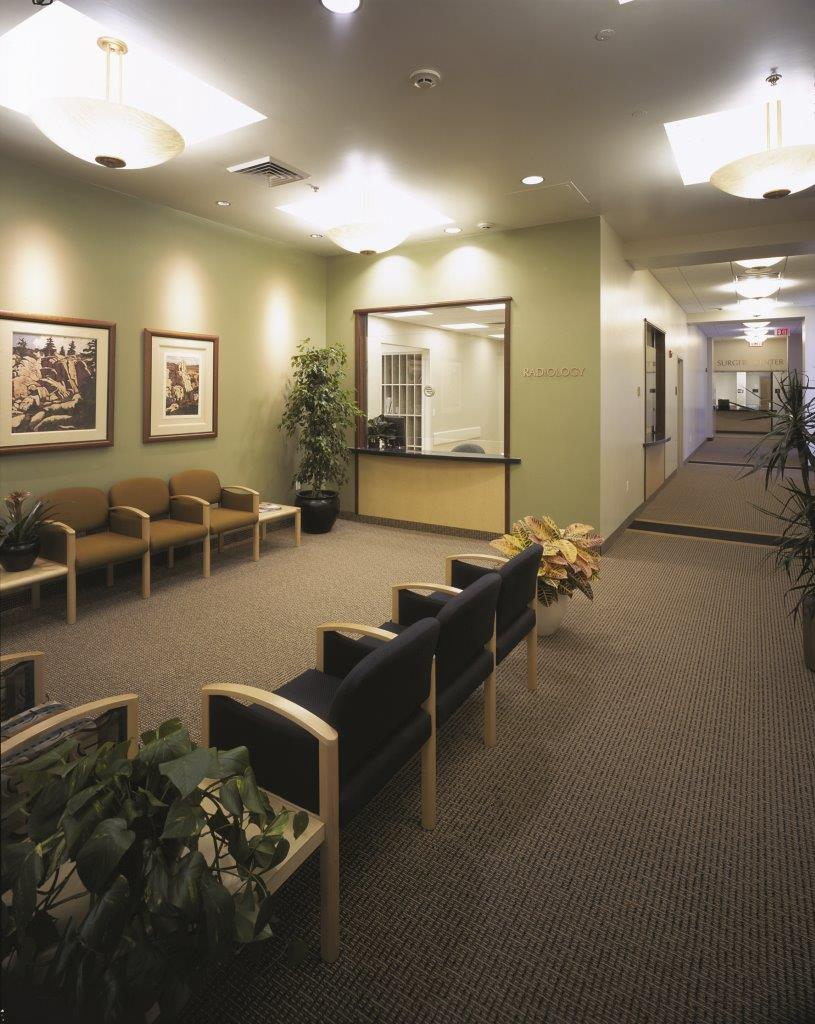 Radiology Reception Area