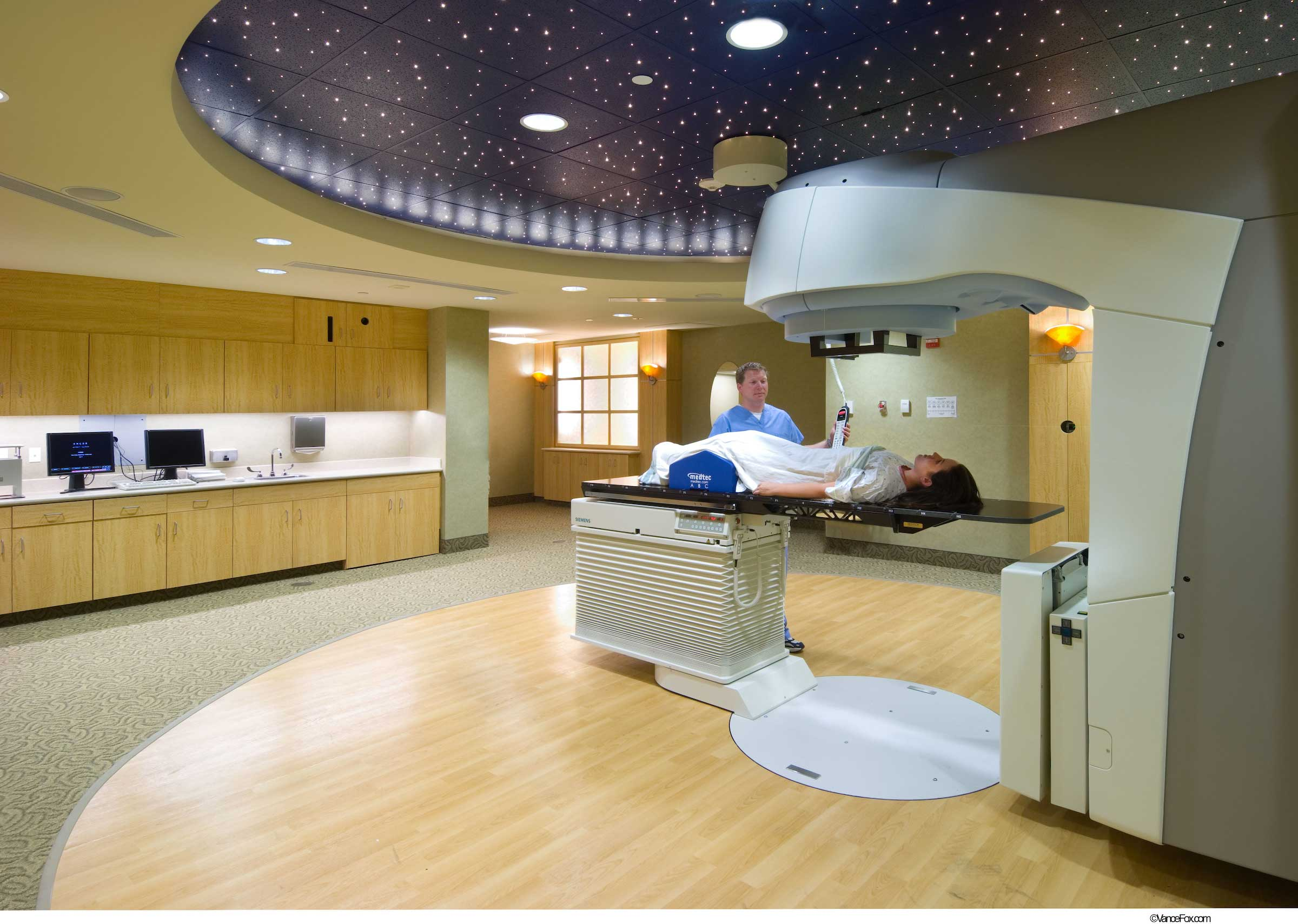 Radiation Oncology Treatment Room
