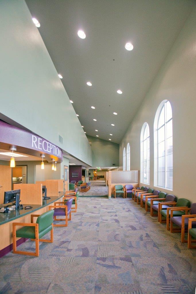 Main Lobby 2 story atrium