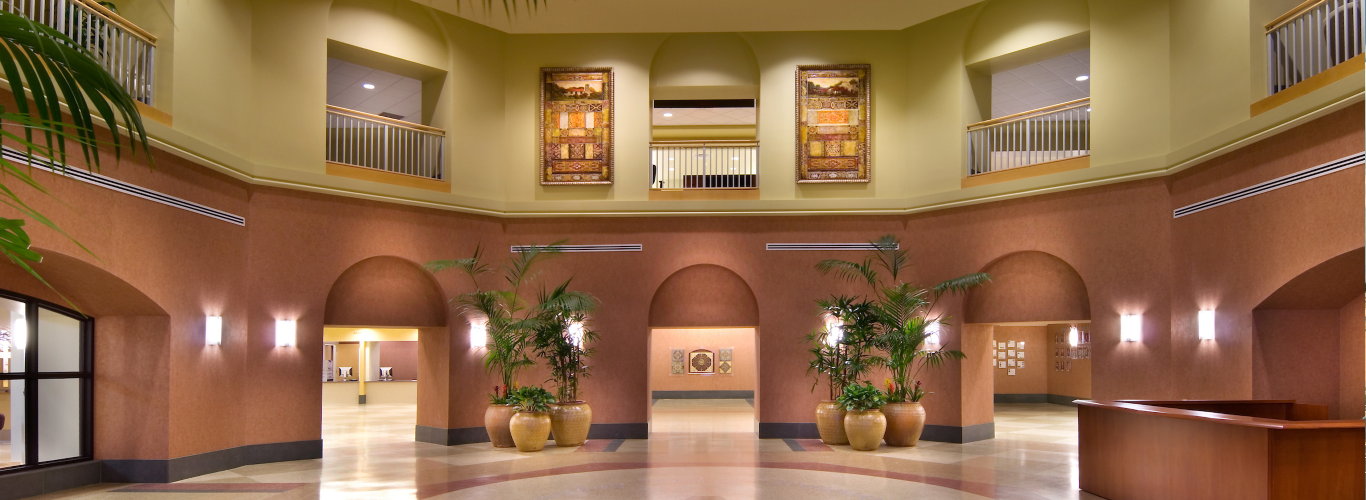 The Mercy Gilbert Medical Center in Gilbert, Arizona Lobby